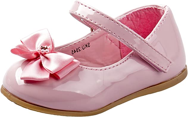 TODDLER BABY INFANTS BOW PATENS SANDALS GIRLS BABY SHINY SHOES SIZES