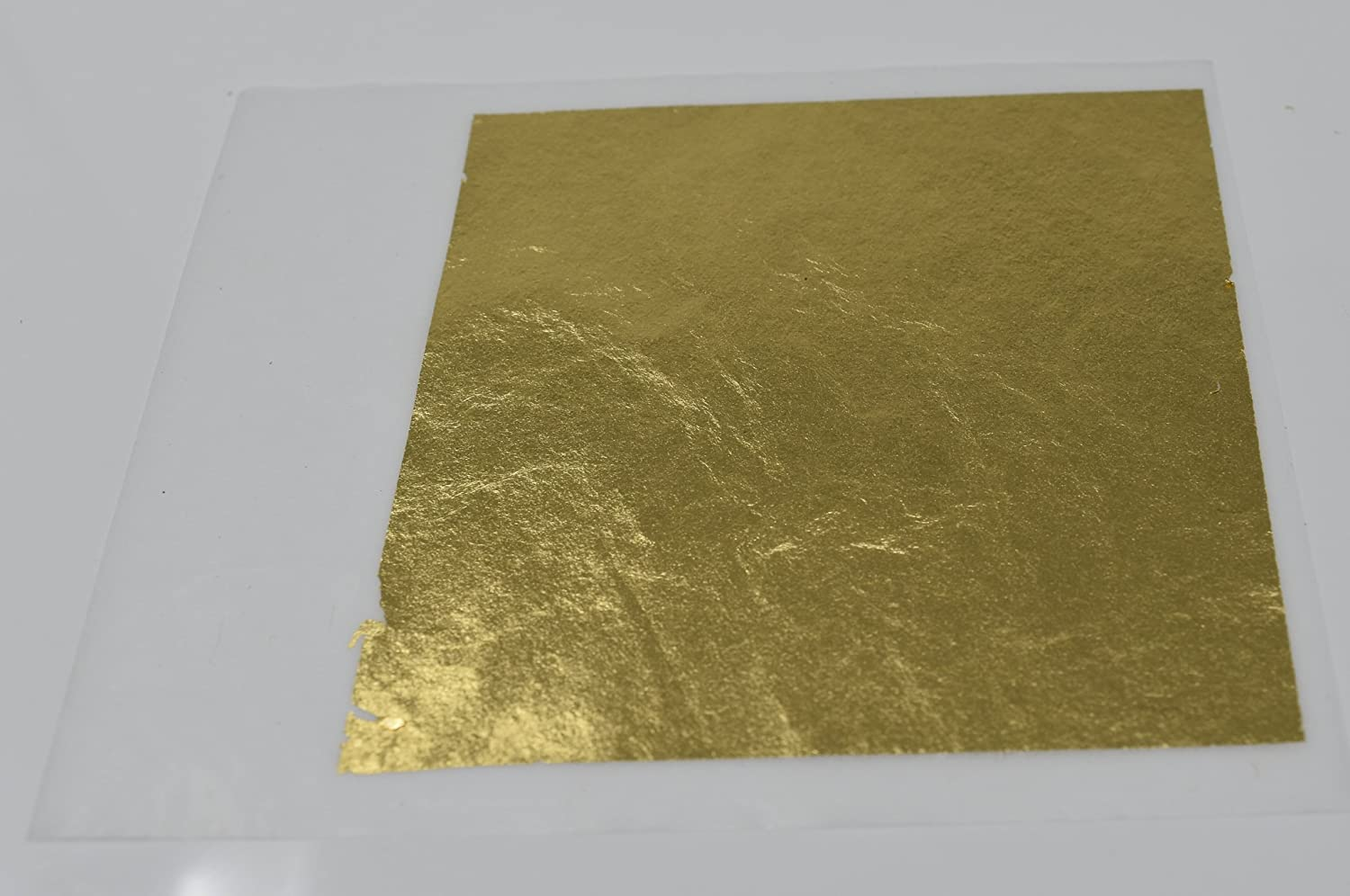 10 Sheets per Book 15 in 24 Karat Edible Gold Leaf Firm Transfer Sheets by Slofoodgroup Hard Press Transfer Sheets Hard Press Transfer Sheets 3.15 in by 3