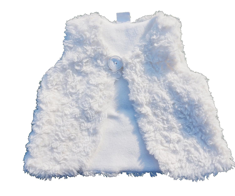 jimonda Baby Girls Cardigan Vest Soft Warm Fleece All Match Outwear JMD001