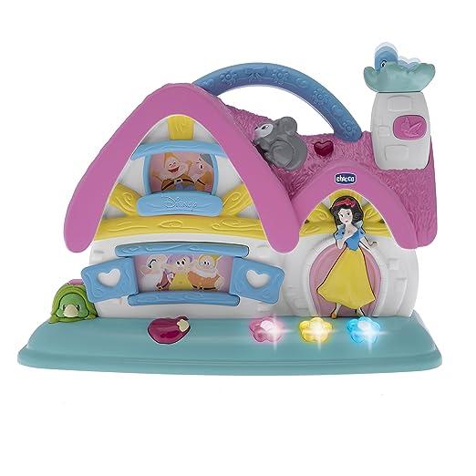 10 opinioni per Chicco 7599- Disney Princess Cottage Musicale Elettronico, Biancaneve e i 7 Nani
