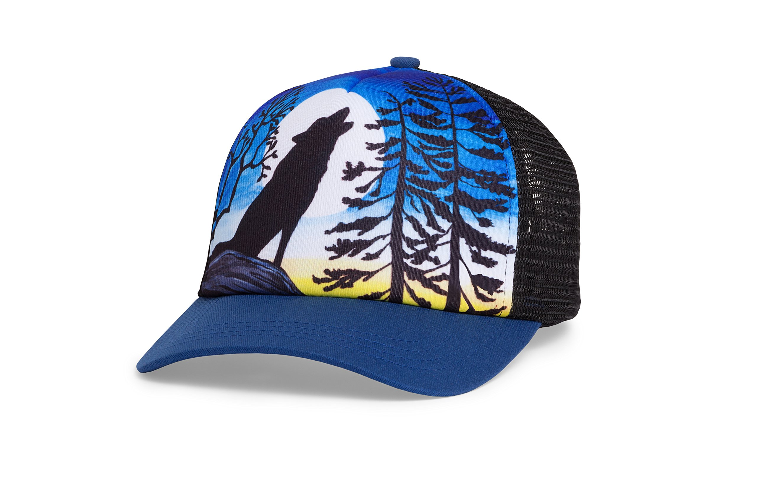 Sunday Afternoons Kids Northwest Trucker Cap, Howling Moon, One Size