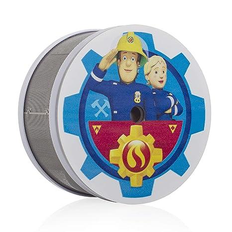 Smartwares Fsm 16401 Fsm 164 Sam Penny Mini Rauchwarnmelder Feuerwehrmann Sam Rauchmelder Fur Das Kinderzimmer 10 Jahres Melder Masse Nur 75 X 35