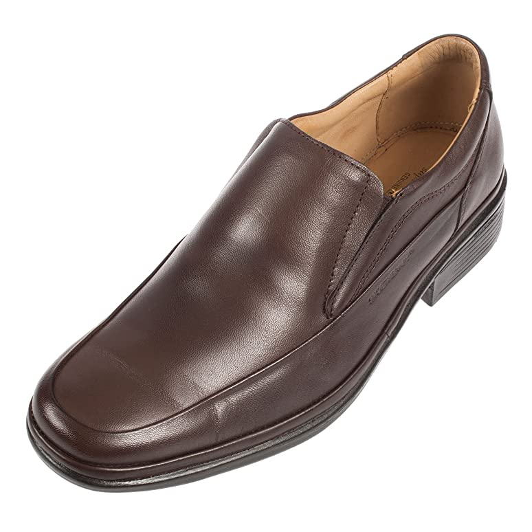 Men's Classico Leather Slip on Moccasin Shoe (23118)