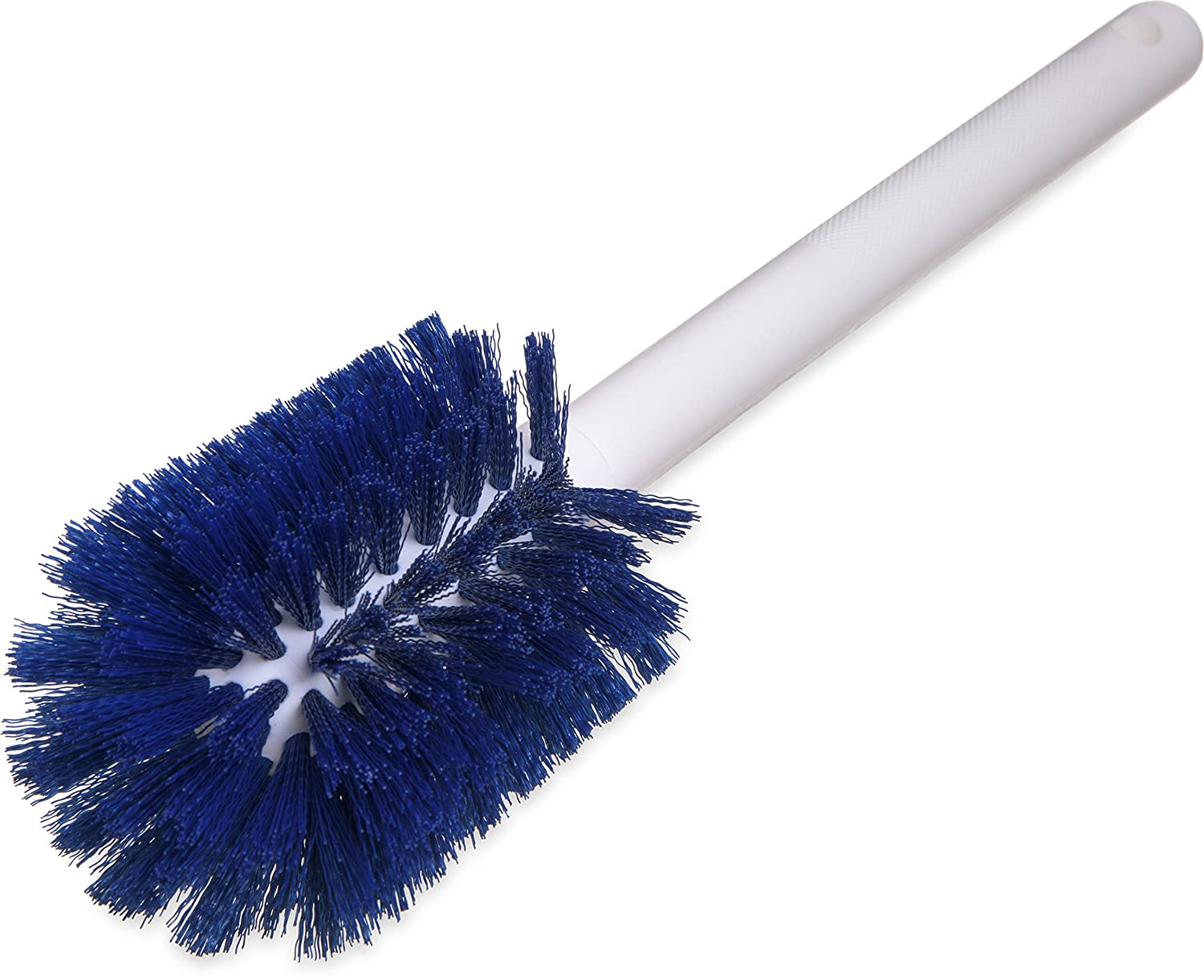 12 Length Carlisle FoodService Products Red 12 Length Pack of 6 Carlisle 40000C05 Commercial Bottle Brush Polyester Bristles