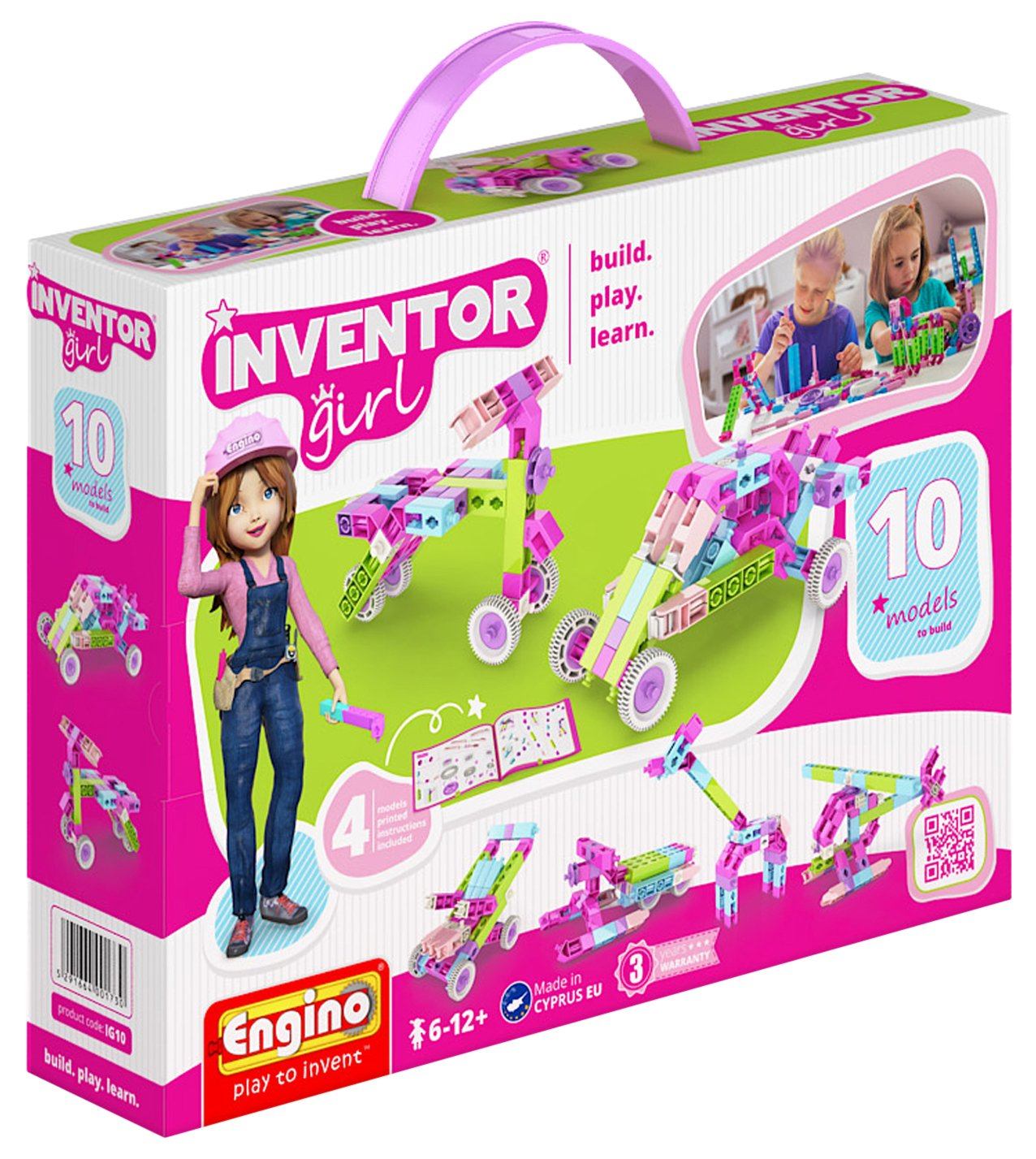 Engino Inventor Girl 10 Models Construction System Review