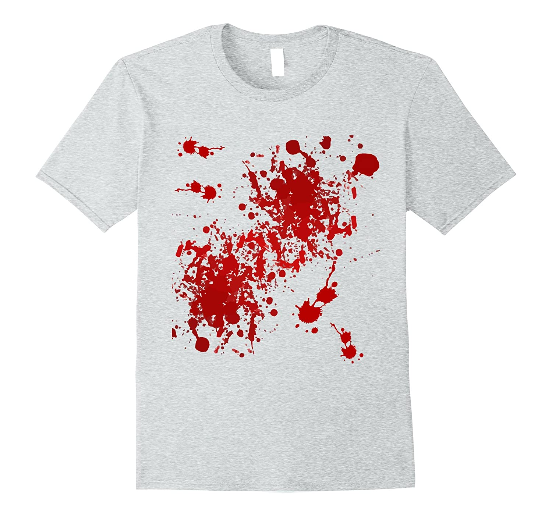 Fake Blood Splatter T-Shirt-ANZ