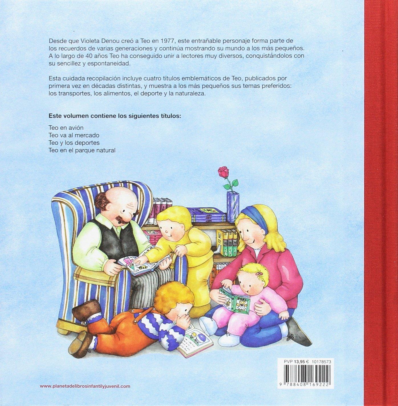 Teo descubre el mundo. Edición especial: El amigo de pequeños y mayores: Amazon.es: Denou, Violeta: Libros