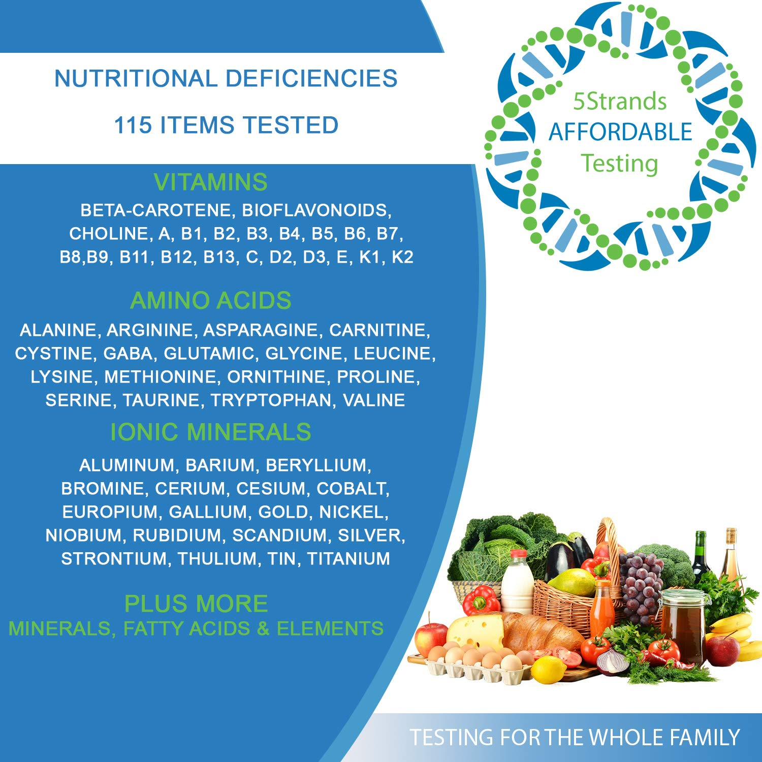 5Strands | Affordable Allergy & Intolerance Adult Test | at Home Environmental & Food Intolerance Kit | Tests for Over 350 Sensitivities & Allergens | Hair Analysis | Results in 1-2 Weeks | 1 Pack by 5Strands (Image #5)