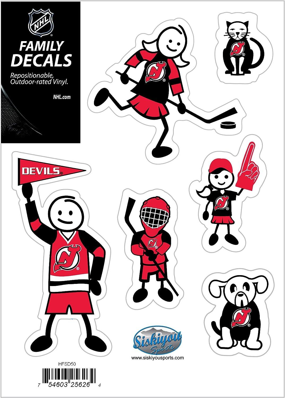 Siskiyou NHL Small Family Decal Set