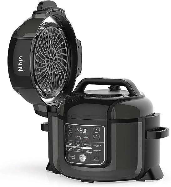 Ninja-OP302-Foodi-9-in-1-Pressure,-Broil,-Dehydrate,-Slow-Cooker,-Air-Fryer,-and-More