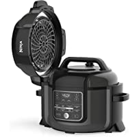 Ninja OP302 Foodi 9-in-1 Pressure, Broil, Dehydrate, Slow Cooker, Air Fryer, and More, with 6.5 Quart Capacity and 45…