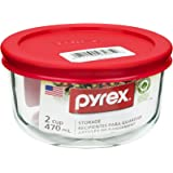 Pyrex 1069619 Round Storage Container With Lid