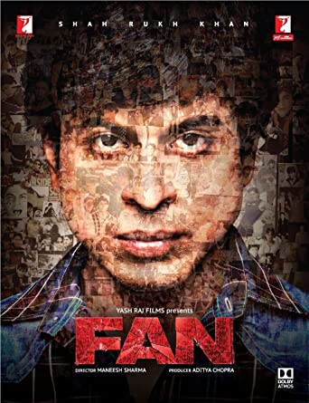 Fan Hindi Blu Ray 2 Disc Set, All Regions, French/ Spanish