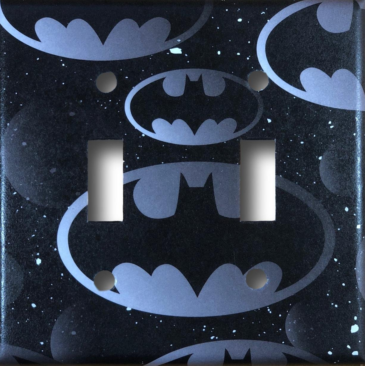 Batman Decorative Double Toggle Light Switch Cover Wall Plate