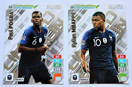 carte adrenalyn euro 2020 Panini Adrenalyn XL Road to UEFA Euro 2020 Set + Pogba Cards