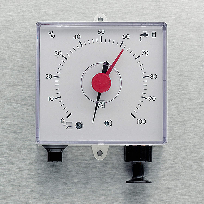 10 m Messleitung f/ür eine Prozentuelle Anzeige des belegten Volumens in der Zisterne oder Regenwassertank. F/üllstandsanzeige 3P Pneumatische Fernanzeige inkl