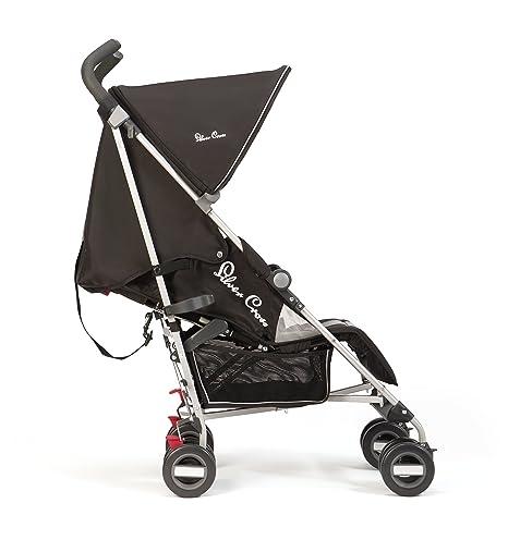 Silver Cross - Silla de paseo zest negro: Amazon.es: Bebé