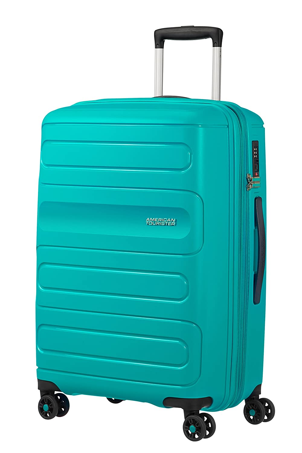 American Tourister Sunside Spinner 68 Expandible, 3.7 kg, 72.5/83.5 l, Aero Turquoise