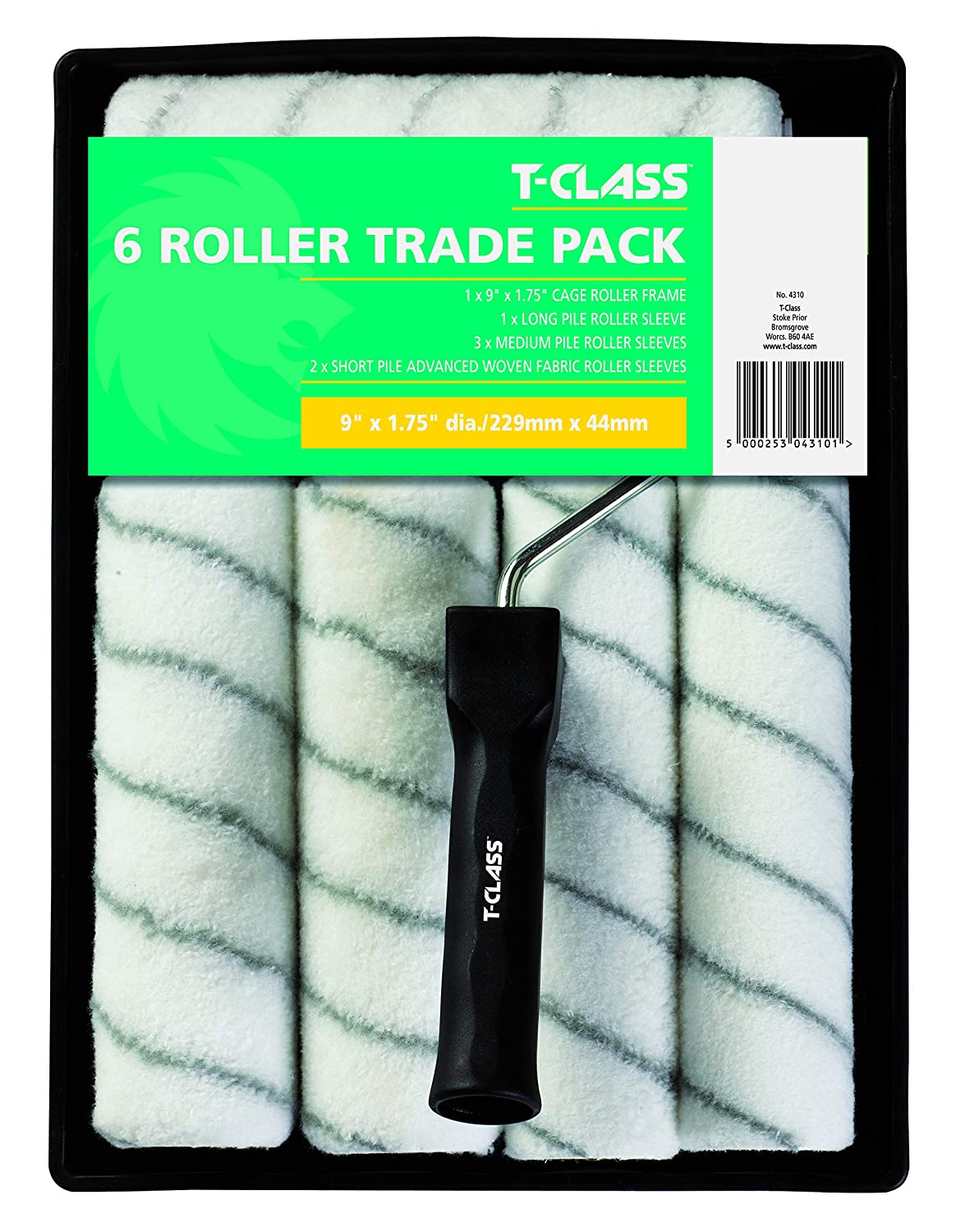 T Class 4310 Pile Knitted Roller Sleeves LG Harris