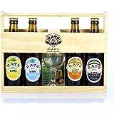 Coffret Bois Bières Artisanales