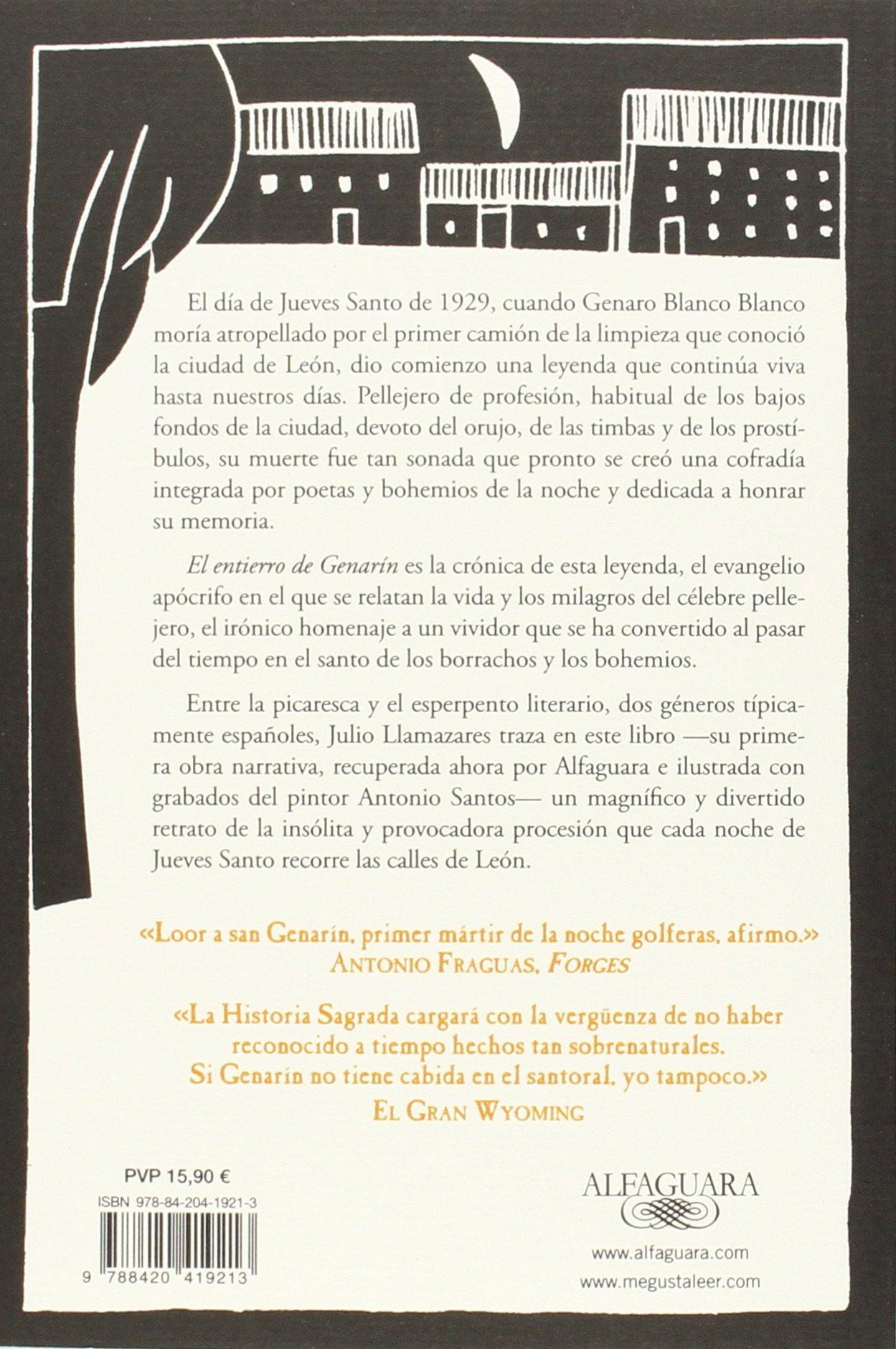 El entierro de Genarín (Alfaguara): Amazon.es: Llamazares, Julio: Libros