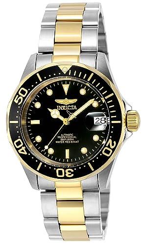 Invicta Men s 8927 Pro Diver Collection Automatic Watch, Gold-Tone Black