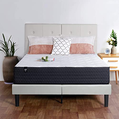 Olee Sleep Faux Leather Upholstered Bed Frame