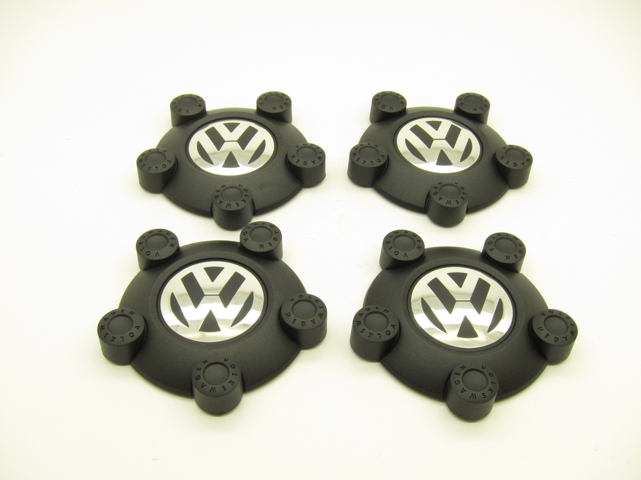 Volkswagen Steel Wheel Center Caps (Set of 4)