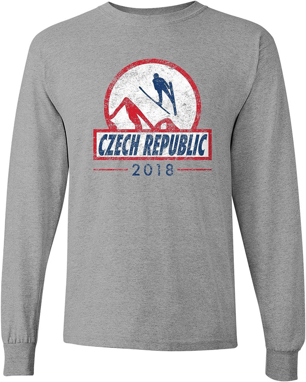 Ski Jumping 2018 Winter Sports Games Long Sleeve T Shirt