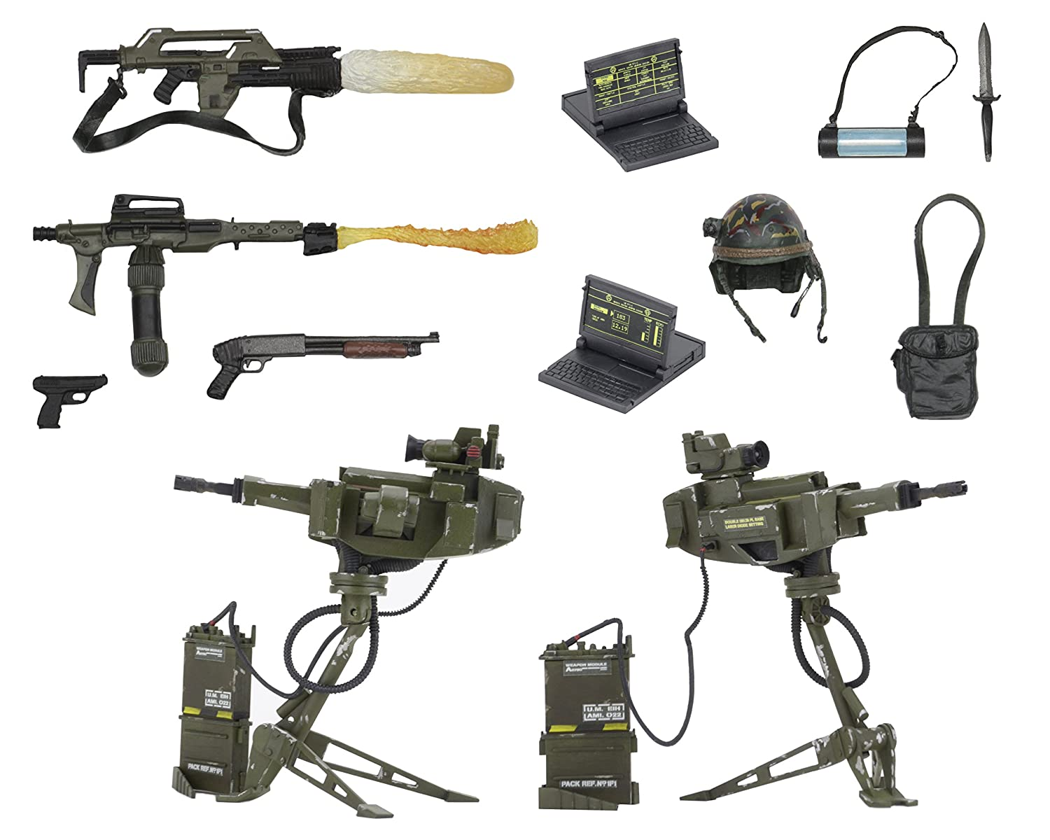 NECA Aliens USCM Accessory Pack 51630