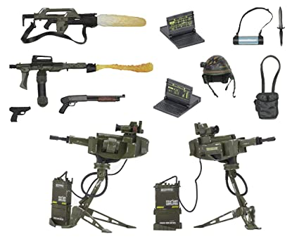 20fbf1cebd837 Buy NECA Aliens Uscm Accessory Pack Online at Low Prices in India - Amazon. in