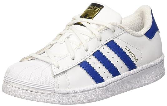Adidas superstar foundatio, scarpe da cestino unisex bambini