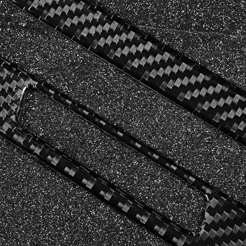 Gorgeri 2 Teile//satz Beifahrerseite Armaturenbrett Abdeckung Trim Kohlefaser Aufkleber Fit f/ür Q7 2016-2019
