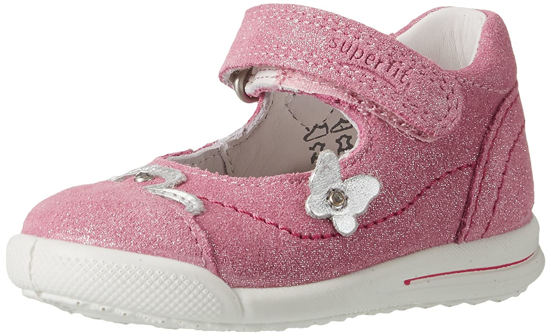 Superfit Baby Girls' Avrile Mini Trainers Pink (Petal Kombi) 24 24 EU 000373