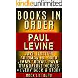 Paul Levine Books in Order: Jake Lassiter series, Solomon vs Lord series, Solomon vs Lord short stories, Super Bowl…