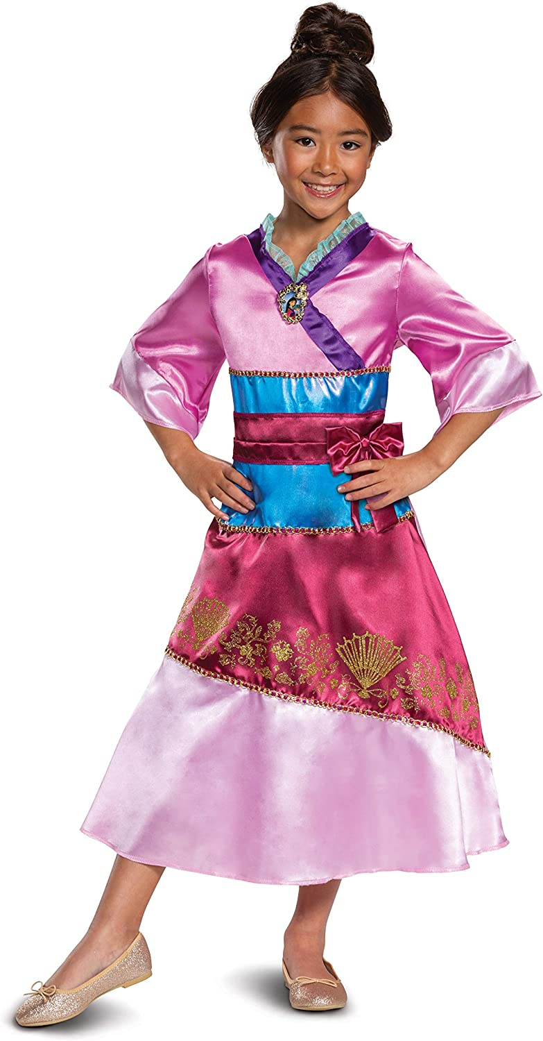 Disney Princess Mulan Costume Dress for Girls