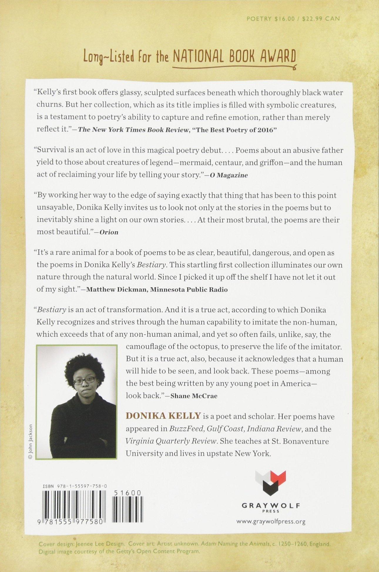 Bestiary poems donika kelly 9781555977580 amazon books fandeluxe Images