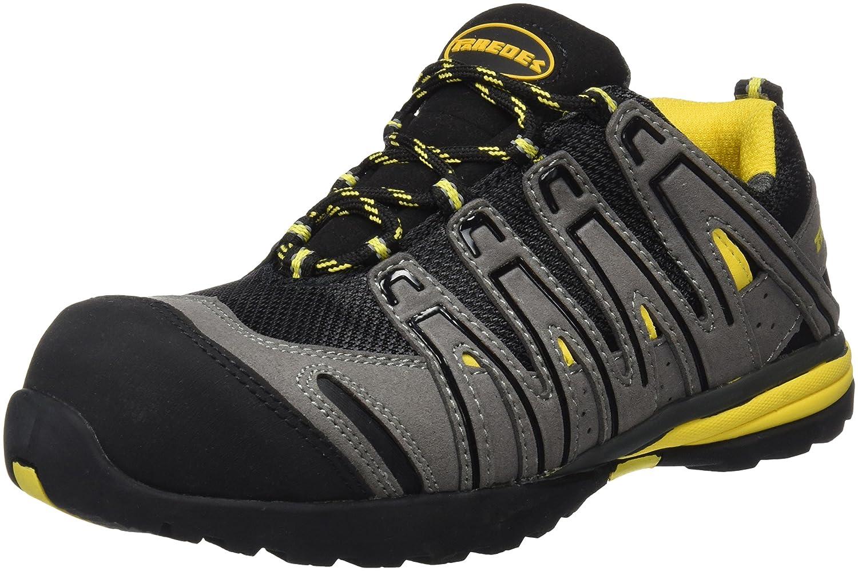 Paredes Helio S1P SRA gris zapatillas de seguridad deportivas