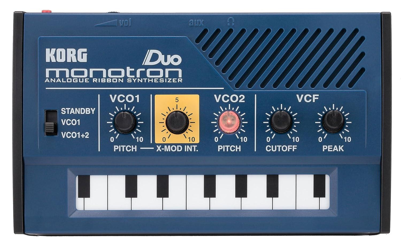 Korg Monotron Duo synth doppio oscillatore analogico palmare per DJ live studio MONOTRONDUO