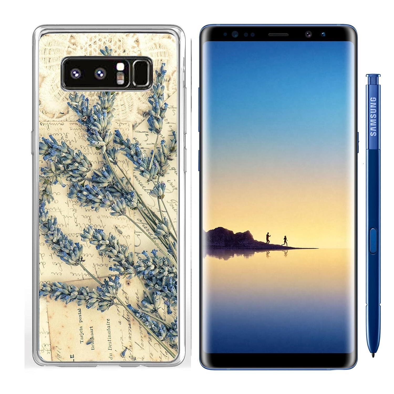 Amazon.com: Luxlady Samsung Galaxy Note8 Clear case Soft TPU ...