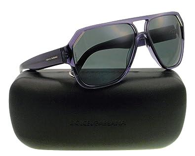 79a89300a063 Amazon.com: Dolce & Gabbana Sunglasses DG 4138 PURPLE 2543/87 DG4138 ...