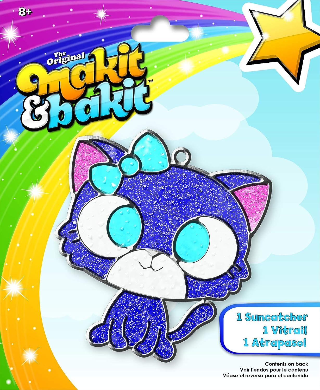 Colorbok 66600TC Makit & Bakit Suncatcher Kitten, Multi-Colored