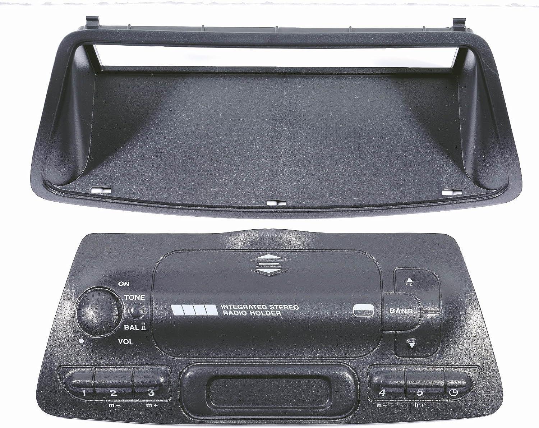 Phonocar 3/234 Placa adaptadora para Radio de Coche (Norma ISO), Color Negro: Amazon.es: Electrónica