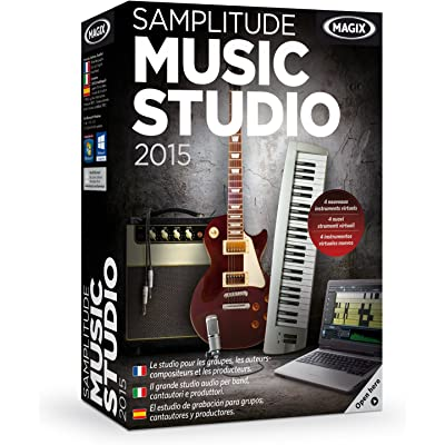 MAGIX Samplitude Music Studio 2015 - Software De Producción De Audio/Música