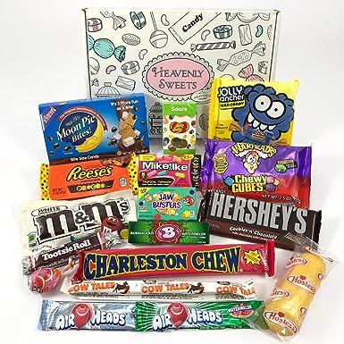 Caja de American Candy | Golosinas y barra de chocolate de ...