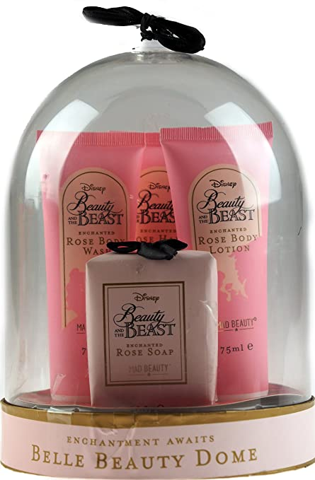 Disney Beauty And The Beast Toiletries Gift Set In Belle Dome