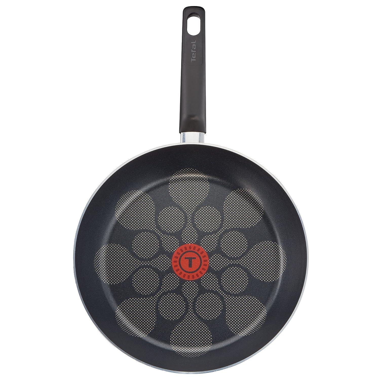 Tefal b34490 Cook n Clean antiha ftbesch ichtetes - Juego de sartenes, Aluminio, Color Burdeos/Bronce, 44,9 X 27.9 X 6.5 cm, 2 Unidades: Amazon.es: Hogar