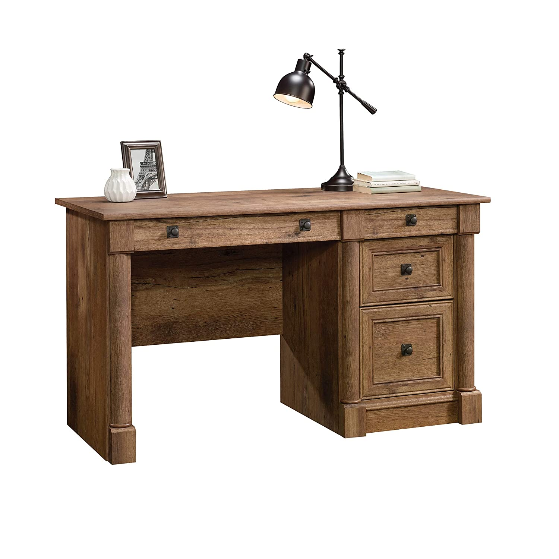 Sauder 422002 Palladia Computer Desk, L 53.15 X W 23.47 X H 30.04 , Vintage Oak finish