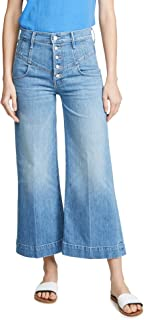 product image for MOTHER Women's Superior Swooner Crop Jeans