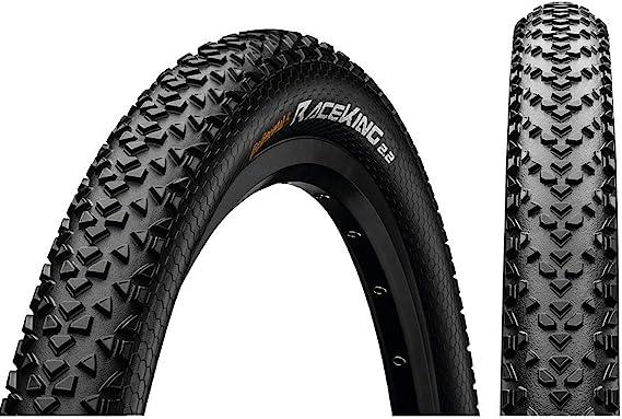 Continental Race King Neumático de Bicicleta, Unisex Adulto, Negro, Taille 29 x 2,2